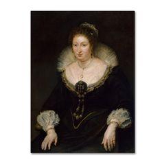 Peter Paul Rubens 'Lady Alethea Talbot' Canvas Art