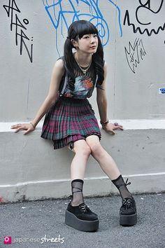 MOMOKO UENO Harajuku, Tokyo Rock SUMMER 2013, GIRLS Kjeld Duits