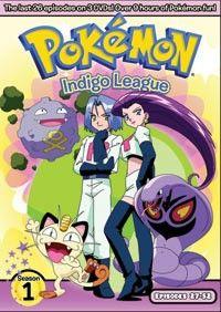 Pokemon Indigo League DVD Set 2 (D) (Season 1)  #RightStuf2013