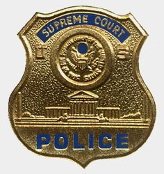Supreme Court Police | US Supreme Court Police: Badge Cards: Police & law enforcement foiled ...