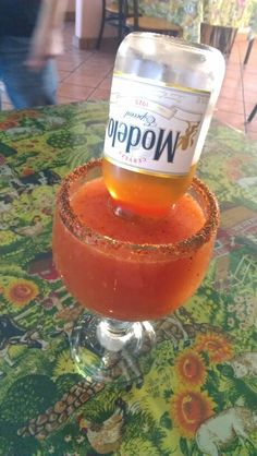 Michelada, I will have one when I go back to Texas...or two! Haha!