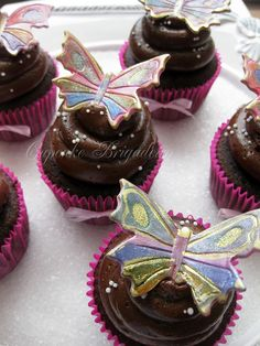 Butterfly Cupcake | Flickr - Photo Sharing!