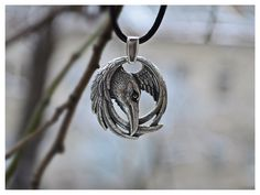 Viking Norse Raven Neckace Odins Pendant Huginn and Muninn Jewelry by WearTheRare on Etsy https://www.etsy.com/listing/228055372/viking-norse-raven-neckace-odins-pendant