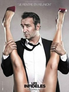 Jean Dujardin's Racy Movie Poster Controversy 'Is Over,' Says 'Artist' Producer