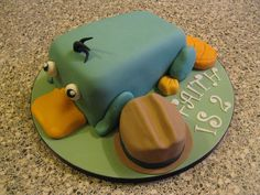 Perry the Platypus Cake by Rachel Manning Cakes, via Flickr