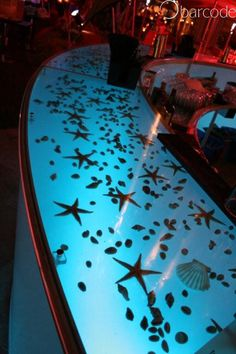 Digital Bar Tops   With Changing Pictures To Suit Theme Nights Or Occassions