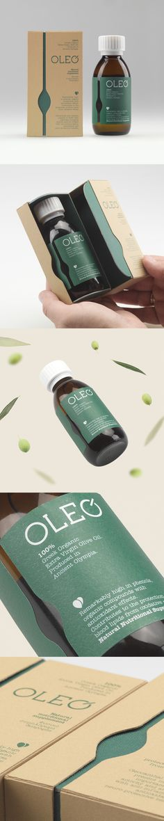 OLEO, a Greek olive oil in a new innovative role as a nutritious supplement, designed by 2yolk.