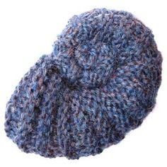 Ammonite Fossil free knitting attern on ODD Knit at http://www.oddknit.com/patterns/fossils/ammonite.html