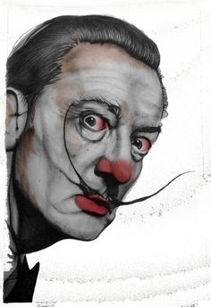 Pop Culture Clowns Dali