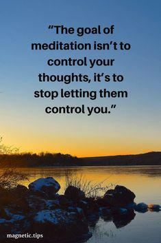 You can't control your thoughts but meditation allows you to step back and view them as an onlooker. Read my blog post to find out if Zen12 can help you enter a meditative state even if you've never tried meditation.
