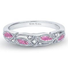 Kirk Kara Dahlia Wedding Band from the Kirk Kara Dahlia Collection Cra · K155PD-B · Ben Garelick Jewelers