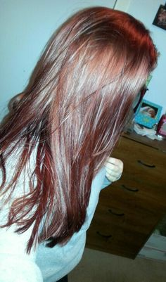 New red brown hair :)
