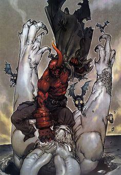 Hellboy by Katsuya Terada
