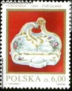 Znaczek nr: 2648 - Polska ceramika szlachetna