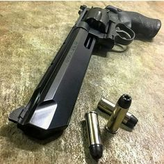 S&W Mag Model 629 Stealth Hunter Performance Center Weapons Guns, Guns And Ammo, Rifles, Shooting Guns, Concept Weapons, Fire Powers, Cool Guns, Awesome Guns, Zombies