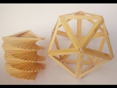 ABC TV, How To Make a Lamp, Vase From Popsicle Sticks in - Craft Tutorial. Today I will show you fast and easy way to make flower vase and beauty lamp made from popsicle sticks (or tongue depressors). I use 66 sticks for the lamp, with the vase, the Diy Popsicle Stick Crafts, Popsicle Crafts, Popsicle Sticks, Ice Cream Stick Craft, Diy Ice Cream, Ice Cream Sticks Models, Diy Projects Lamps, Toothpick Sculpture, Beauty Lamp