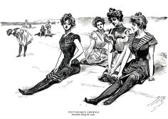 From The Gibson Girl & Her America  The Best Drawings of Charles Dana Gibson