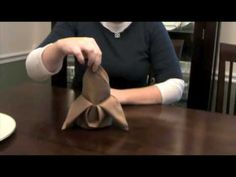 Video Detail for Napkin Folding Napkin Ring Folding, Bishop Hat, French Tea Parties, Napkin Origami, Diy Tutorial, Tablescapes, Wedding Events, Tea Party, Youtube