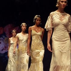 Claire Pettibone Fall 2014 bridal collection featured on The Dress