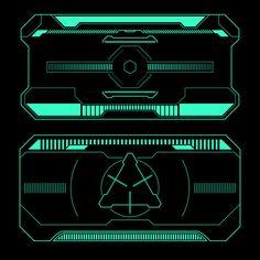 Game Interface, Interface Design, Thumbnail Design, Custom Screens, Alien Art, Futuristic Technology, Cyberpunk Art, Game Design, Monitor