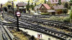 Modelleisenbahn in Spur H0 - 1/87 - Märklin - Vom Gleisplan, Aufbau der ...