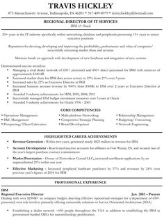 How to write a quality executive level resume!