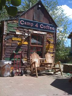 Camp 4 Coffee, Crested Butte, CO  - best coffee in the mountains! yummm