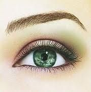 for green eyes..