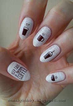 - Nailpolis: Museum of Nail Art gelnails Crazy Nail Art, Crazy Nails, Beautiful Nail Designs, Beautiful Nail Art, Cute Nails, Pretty Nails, Nails Ideias, Korea Nail Art, Fall Nail Designs