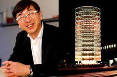 """¿Como utiliza Toyo Ito la técnica en la arquitectura?  Frases de arquitectos """"Si no hay técnica o dinero suficiente… la estructura ornamental no es posible"""" Toyo Ito"""