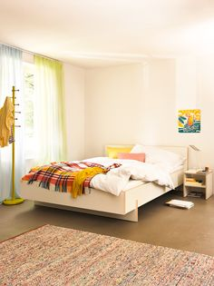 Micasa Schlafzimmer Cumulus, Minimalist Room, Indoor, Furniture, Home Decor, Arredamento, Home Decoration, Bed, Bedroom