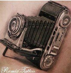 #camera #tattoo #awesome