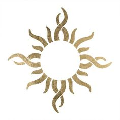 """Tribal Sun Temporary Tattoo (10 Pack). 2"""" x 2"""" Tribal Sun Temporary Tattoo. This is a pack of 10 tattoos. Easy to put on and easy to remove!. Skin safe using FDA approved ingredients."""