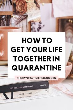 Are you looking for productive activities to do in quarantine/self isolation? Here are my top tips f Productive Things To Do, Things To Do When Bored, Get Your Life, Organize Your Life, Work From Home Tips, Self Improvement Tips, Self Care Routine, Self Development, Personal Development