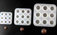 9-cavity Ball Cake Mold Soap Mold Flexible Silicone Mold Soap