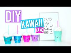 DIY Back To School 0€ KAWAII : Fournitures Scolaires (français) - YouTube