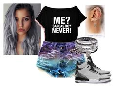 """Sarcastic"" by genesis-nicole on Polyvore"