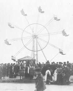 Early Ferris wheel, c1904, Blackheath