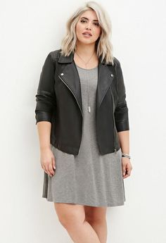 Stylish plus size outfits for winter 2017 56