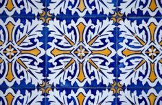 Buy Traditional Portuguese glazed tiles by homydesign on PhotoDune. Detail of Portuguese glazed tiles.