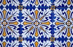 Detalle de azulejos portugueses