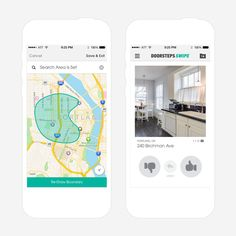 Doorsteps Swipe is the Tinder of real estate apps.