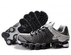 Nike Store. Nike Shox TL 3 Mens Running Shoes - Black/Grey - Wholesale & Outlet
