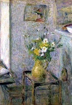 Stoneware Vase and Flowers, Edouard Vuillard