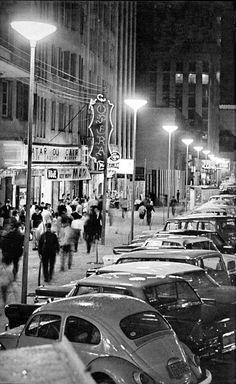 Avenida Luiz Xavier [Boca Maldita]. Década de 1960.