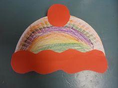 Winter Weather Crafts - preschool