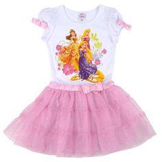 Vestido De Princesas De Disney Para Niña. Lqe. Vhg. - TsumTsumPlush.com Shop Disney Tsum Tsum Plush Toys