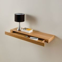 UNDERBED DRAWERS - This is a slightly smaller version of the bedside table I had in · Floating Drawer ShelfWooden ...