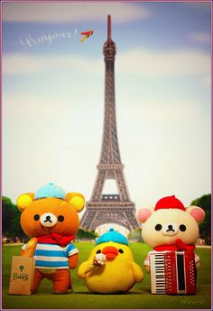 Cool Paris Rilakkuma