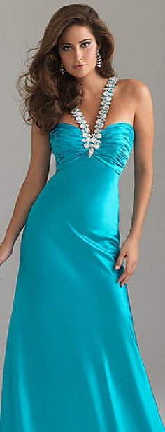 Embellished Natural Elastic woven satin Champagne Sleeveless Prom Dresses In Stock motodresses12021 #promdress jaglady